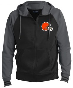 Private: Cleveland Browns Men's Sport-Wick® Full-Zip Hooded Jacket