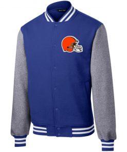 Private: Cleveland Browns Fleece Letterman Jacket