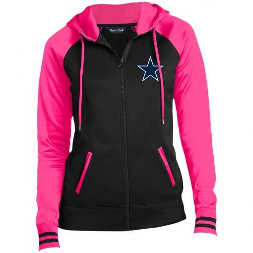Private: Dallas Cowboys Ladies' Moisture Wick Full-Zip Hooded Jacket