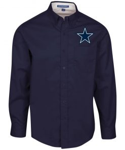 Private: Dallas Cowboys Men's LS Dress Shirt