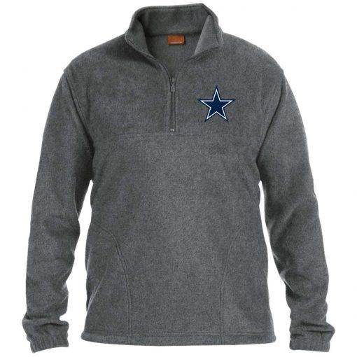 Private: Dallas Cowboys 1/4 Zip Fleece Pullover