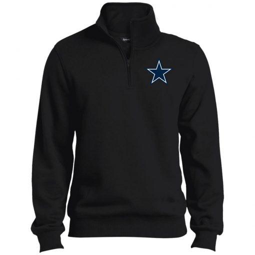 Private: Dallas Cowboys Tall 1/4 Zip Sweatshirt