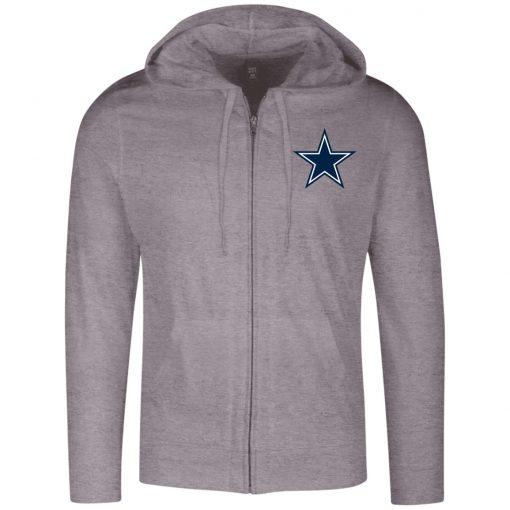 Private: Dallas Cowboys Lightweight Full Zip Hoodie
