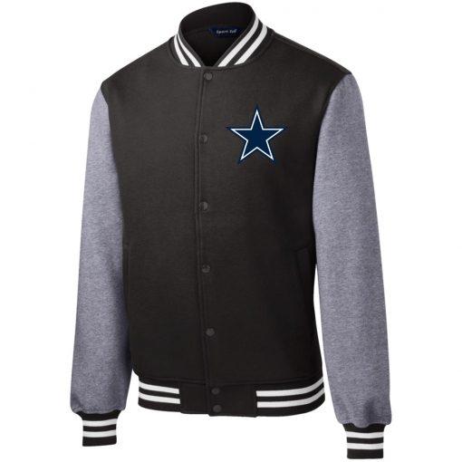 Private: Dallas Cowboys Fleece Letterman Jacket