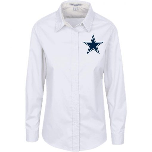 Private: Dallas Cowboys Ladies' LS Blouse