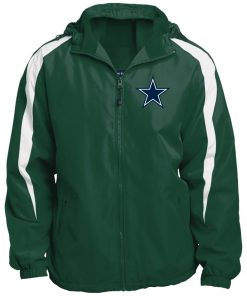 Private: Dallas Cowboys Fleece Lined Colorblocked Hooded Jacket