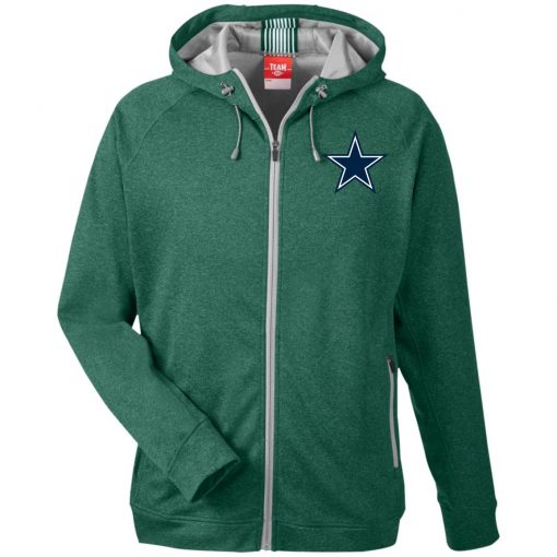 Private: Dallas Cowboys Men's Heathered Performance Hooded Jacket