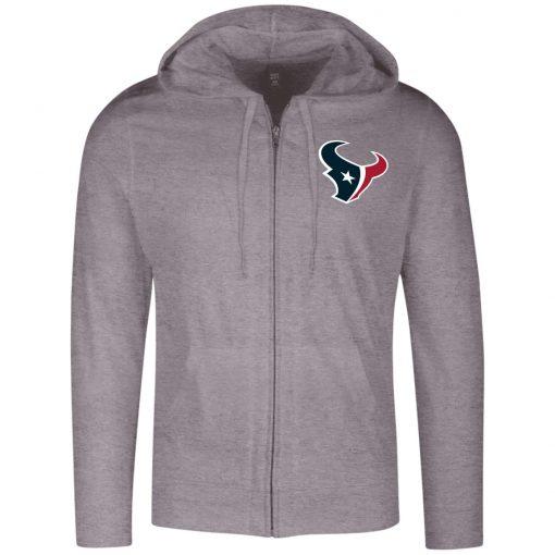 Private: Houston Texans Lightweight Full Zip Hoodie