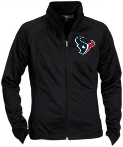 Private: Houston Texans Ladies' Raglan Sleeve Warmup Jacket