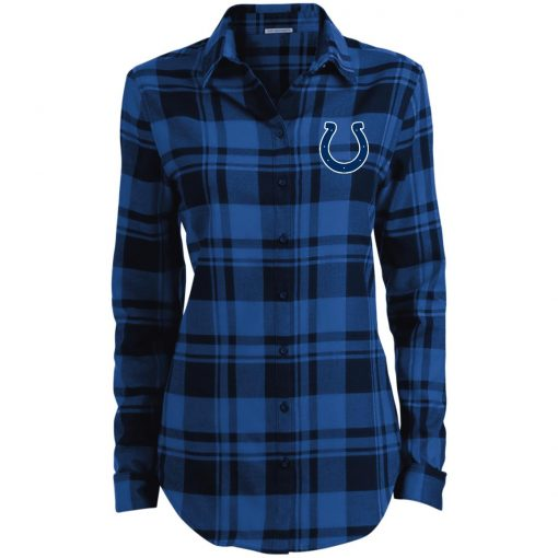 Private: Indianapolis Colts NFL Ladies' Plaid Flannel Tunic