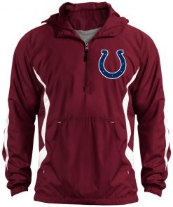 Private: Indianapolis Colts NFL Unisex Colorblock Raglan Anorak