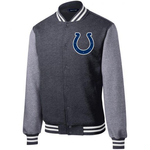 Private: Indianapolis Colts NFL Fleece Letterman Jacket