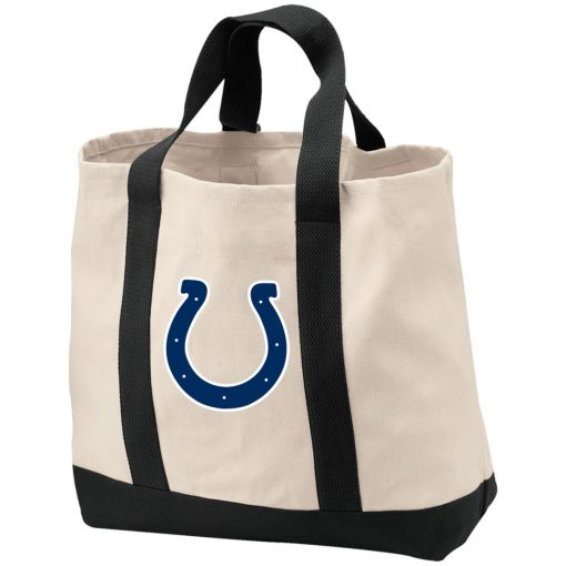 Private: Indianapolis Colts NFL 2-Tone Shopping Tote