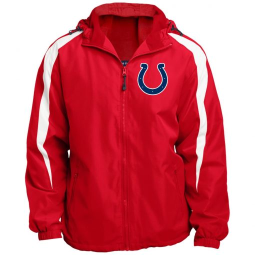 Private: Indianapolis Colts NFL Fleece Lined Colorblocked Hooded Jacket