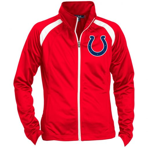 Private: Indianapolis Colts NFL Ladies' Raglan Sleeve Warmup Jacket