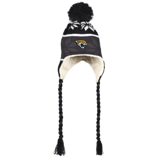 Private: Jacksonville Jaguars Hat with Ear Flaps and Braids