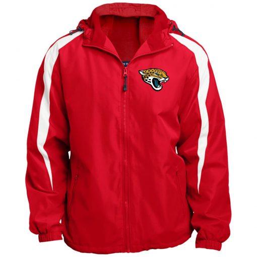 Private: Jacksonville Jaguars Fleece Lined Colorblocked Hooded Jacket