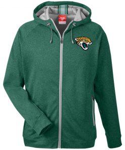 Private: Jacksonville Jaguars Men's Heathered Performance Hooded Jacket