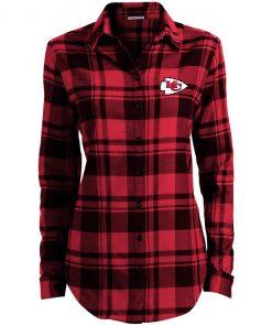 Private: Kansas City Chiefs Ladies' Plaid Flannel Tunic
