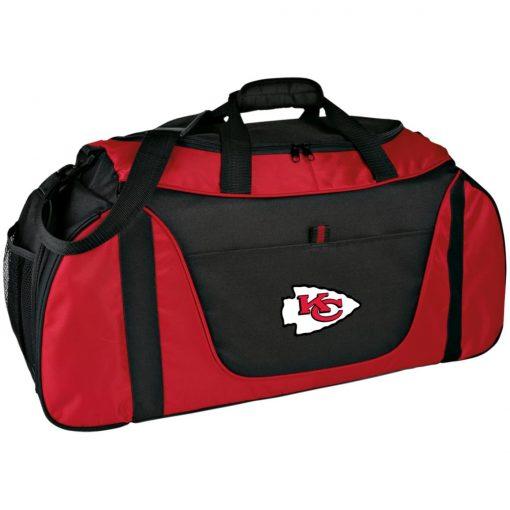 Private: Kansas City Chiefs Medium Color Block Gear Bag