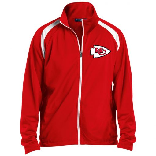 Private: Kansas City Chiefs Men's Raglan Sleeve Warmup Jacket