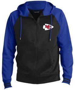 Private: Kansas City Chiefs Men's Sport-Wick® Full-Zip Hooded Jacket