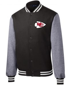 Private: Kansas City Chiefs Fleece Letterman Jacket