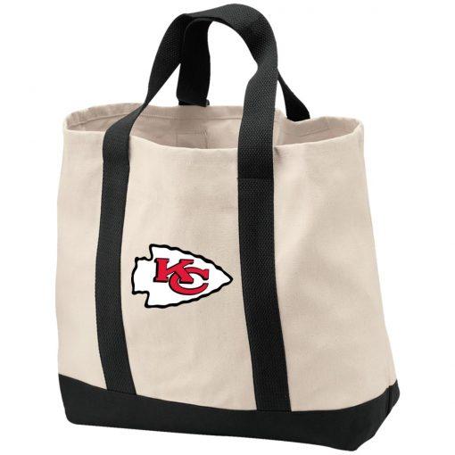 Private: Kansas City Chiefs 2-Tone Shopping Tote