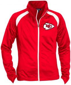 Private: Kansas City Chiefs Ladies' Raglan Sleeve Warmup Jacket