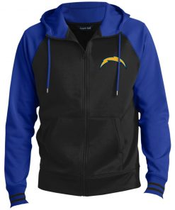 Private: Los Angeles Chargers Men's Sport-Wick® Full-Zip Hooded Jacket