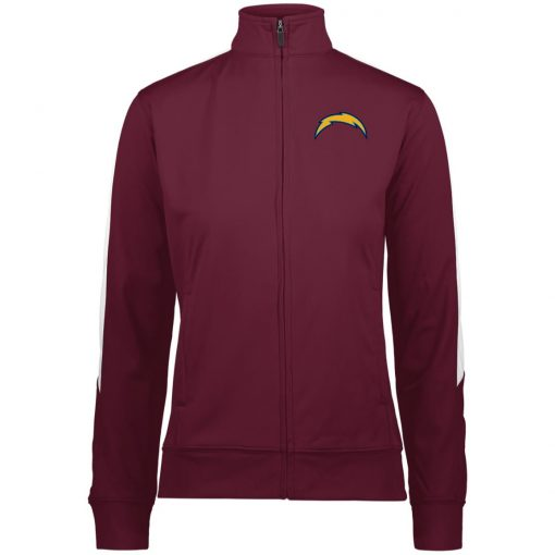 Private: Los Angeles Chargers Ladies' Performance Colorblock Full Zip