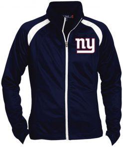 Private: New York Giants Ladies' Raglan Sleeve Warmup Jacket