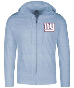 Private: New York Giants Lightweight Full Zip Hoodie