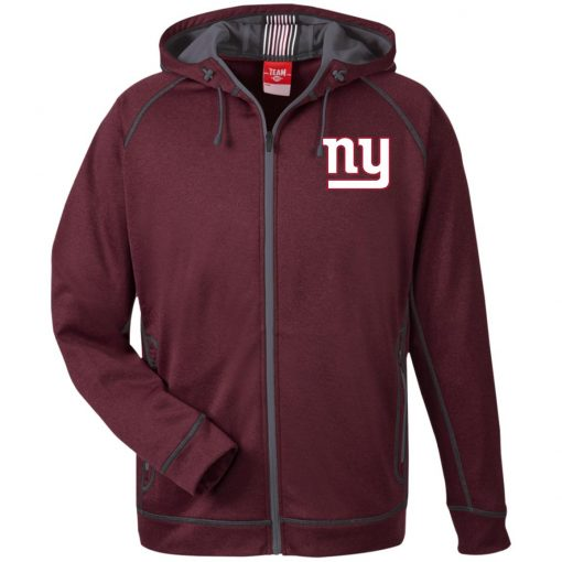 Private: New York Giants Men's Heathered Performance Hooded Jacket