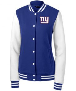 Private: New York Giants Women's Fleece Letterman Jacket