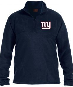 Private: New York Giants 1/4 Zip Fleece Pullover