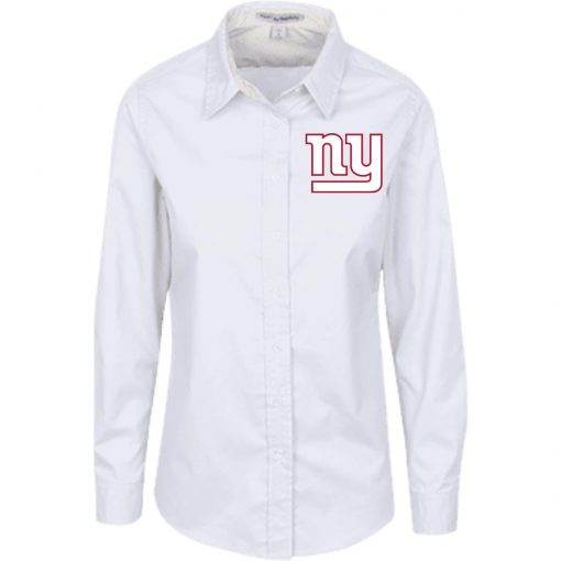 Private: New York Giants Ladies' LS Blouse