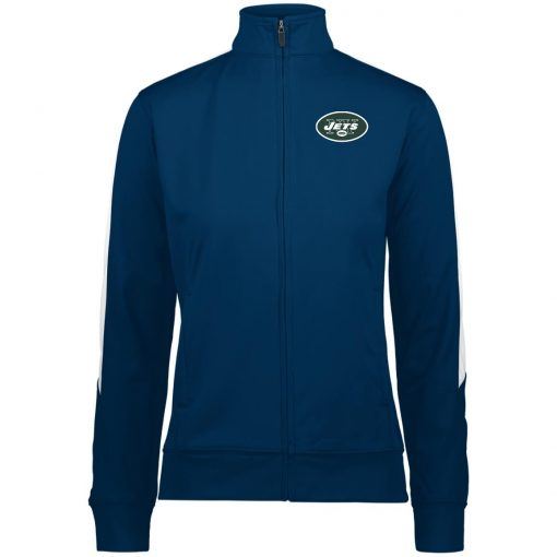 Private: New York Jets Ladies' Performance Colorblock Full Zip