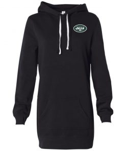 Private: New York Jets Women's Hooded Pullover Dress