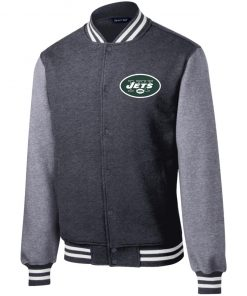 Private: New York Jets Fleece Letterman Jacket