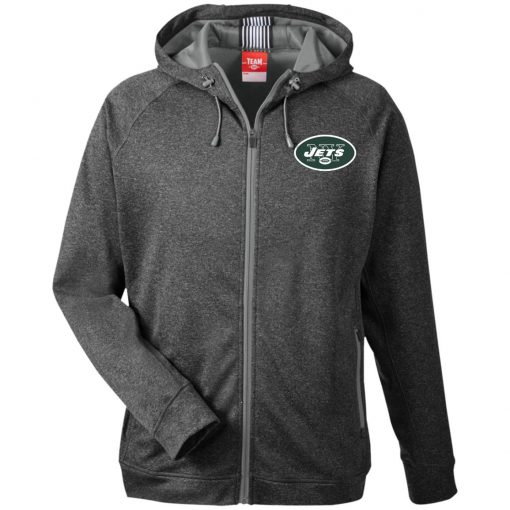 Private: New York Jets Men's Heathered Performance Hooded Jacket