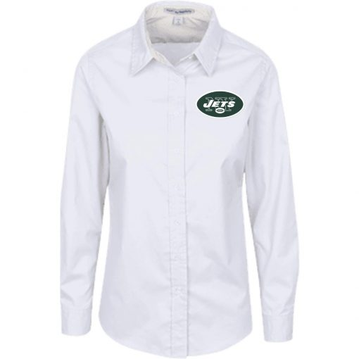 Private: New York Jets Ladies' LS Blouse