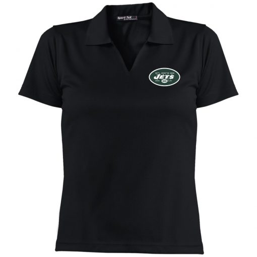 Private: New York Jets Ladies' Dri-Mesh Short Sleeve Polo