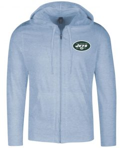 Private: New York Jets Lightweight Full Zip Hoodie
