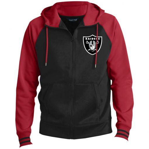 Private: Oakland Raiders Men's Sport-Wick® Full-Zip Hooded Jacket