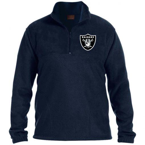 Private: Oakland Raiders 1/4 Zip Fleece Pullover
