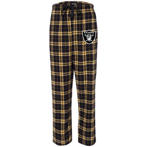 Private: Oakland Raiders Unisex Flannel Pants