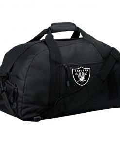 Private: Oakland Raiders Basic Large-Sized Duffel Bag
