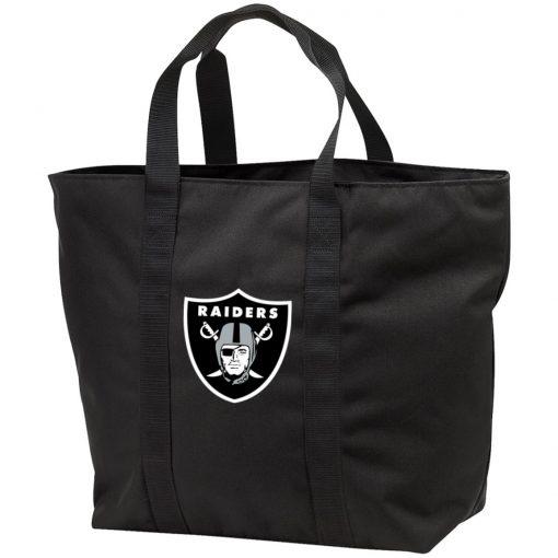Private: Oakland Raiders All Purpose Tote Bag