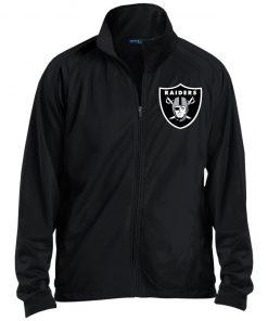 Private: Oakland Raiders Men's Raglan Sleeve Warmup Jacket